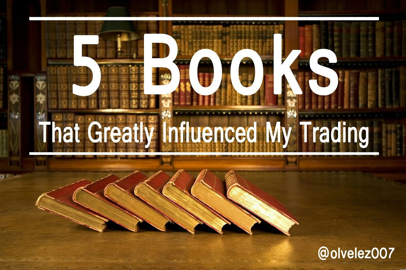 These 5 books helped shape me as a trader in more ways than one.  Maybe they can help you. http://blog.olivervelez.com/2016/01/the-5-books-that-had-great-influence-on.html?m=1