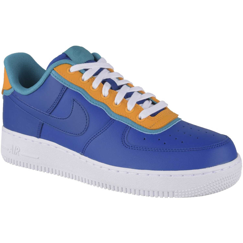 air force 1 azul y naranja