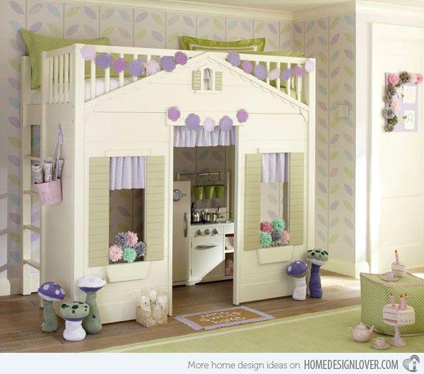Kids Loft Beds Part - 45: Kidu0027s Bedroom Furniture: Exciting Loft Bed Designs | Home Design Lover