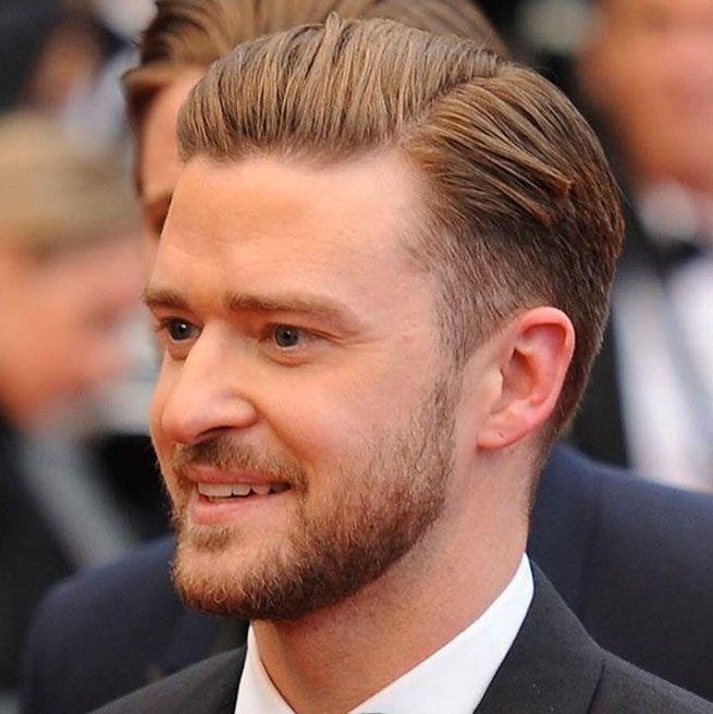 Justin Timberlake Frisur Seitenscheitel Herrenfrisuren Haarschnitt Manner Manner Frisuren
