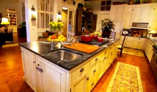 paula deen kitchen banquette ideas it s house in savannah y all dream home the ultimate 2nd view