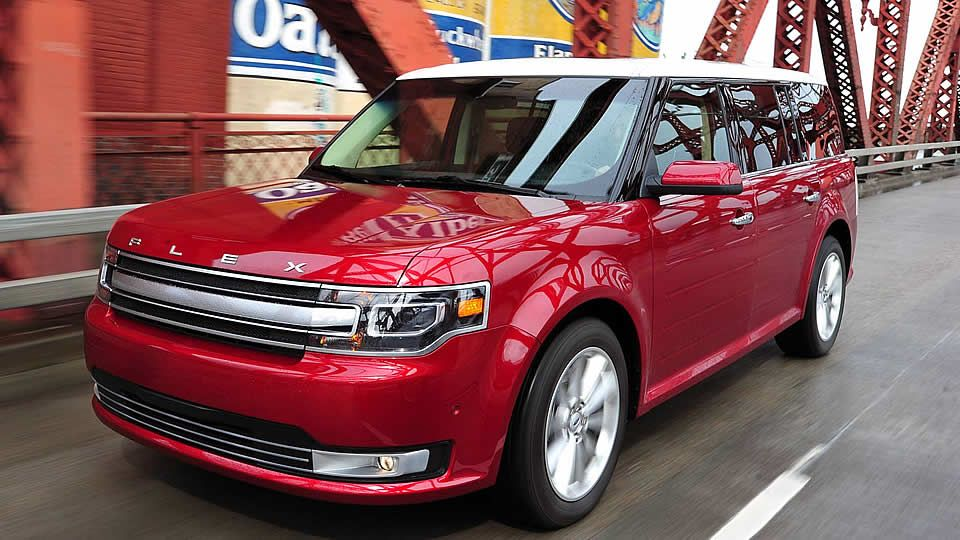 2014 Ford Flex Sel Limited Awd In Ruby Red Metallic Just Bought