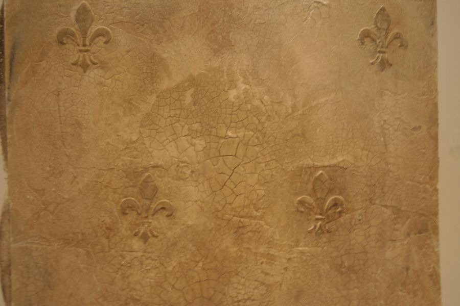 Raised Texture Stencil Old World Plaster With Textured