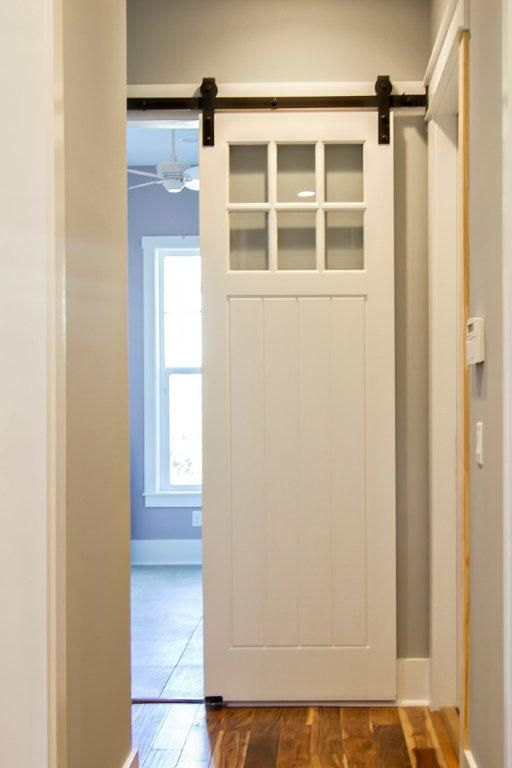 Townhouse Solution For Powder Room Which Has A Door