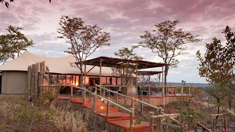 The Elephant Camp is located 10 kilometers from Victoria