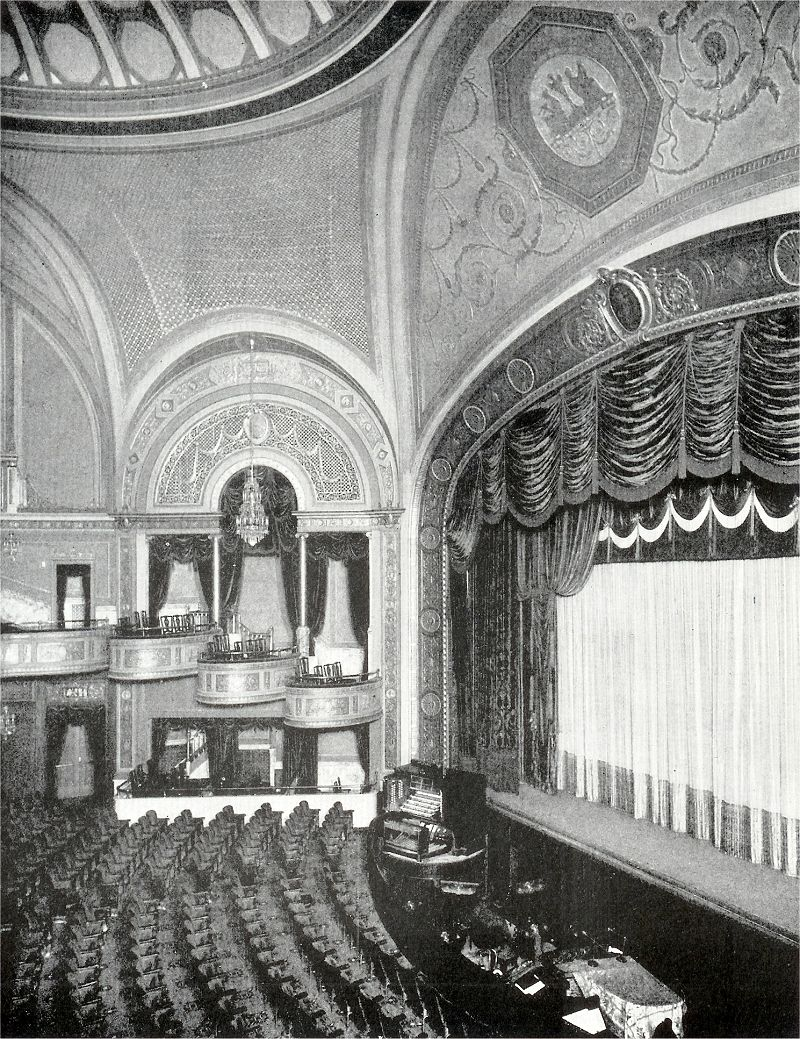 Interior Broadway Theater Formerly The Colony Theater Steamboat Willie Animated Teacher Broadway Theatre