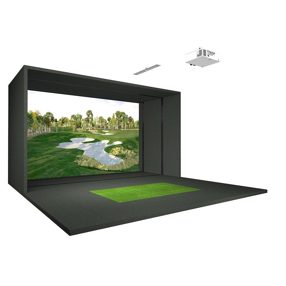 Golf Simulators: Game Room Guys-Full Swing S8 Golf Simulator $55,650