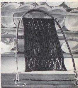 """Bow sprang loom"""