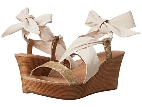 Womens Sandals UGG Sedona Metallic Pearl/Textile/Suede