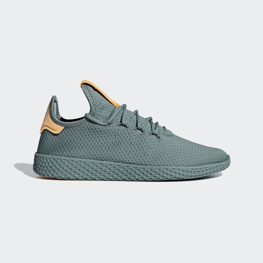 a6bd9c64601ea Pharrell Williams Tennis Hu Shoes Raw Green 9 Mens in 2019