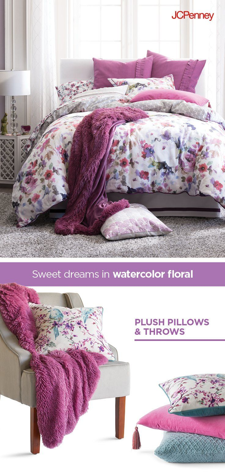 Looking For Spring Bedroom Inspiration? Watercolor Floral Bedding, Soft  Throws And Plush Pillows Make Every Bedroom Pop. Find Made To Love Bedding U2026 Pictures