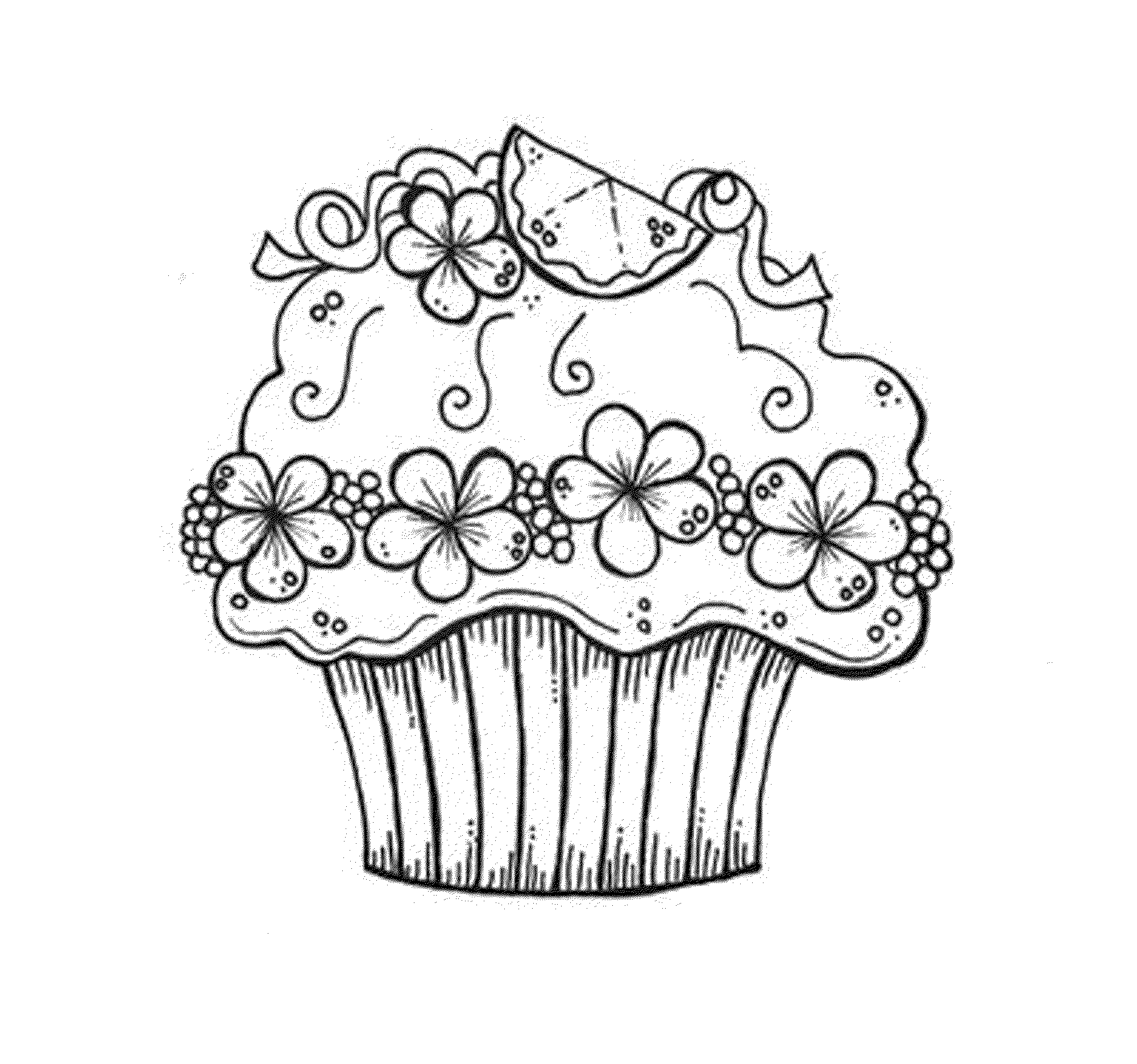 Cupcakes Coloring Pages Printable Kids Colouring Pages Cupcake Coloring Pages Birthday Coloring Pages Coloring Pages