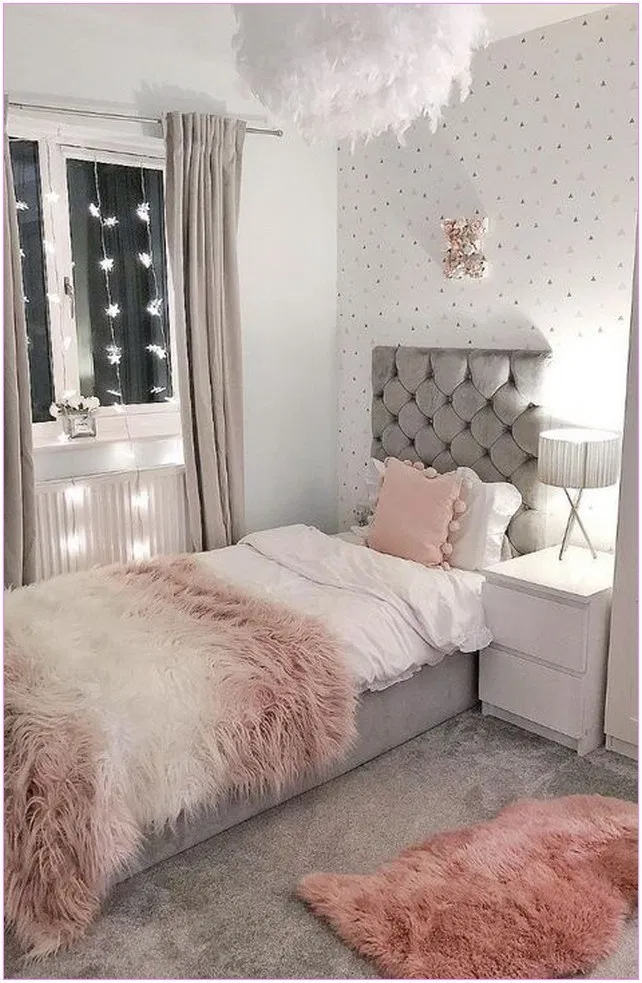 26 Cool Bedroom Inspiring For Small Rooms Lancarbisnis Me Room Inspiration Girly