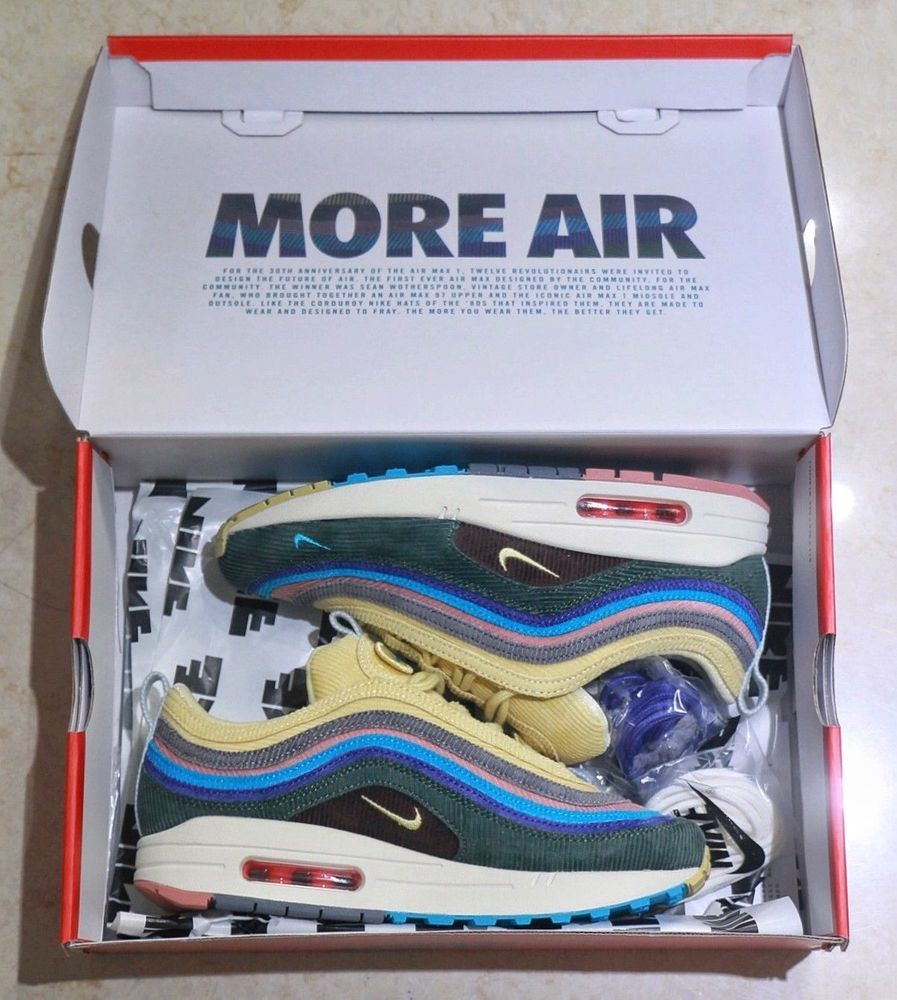 da6140562d887 Nike Air Max 1/97 VF 'Sean Wotherspoon' Size 8.5 UK EU 43 US 9.5 |  AJ4219-400 #fashion #clothing #shoes #accessories #mensshoes #athleticshoes  (ebay link)