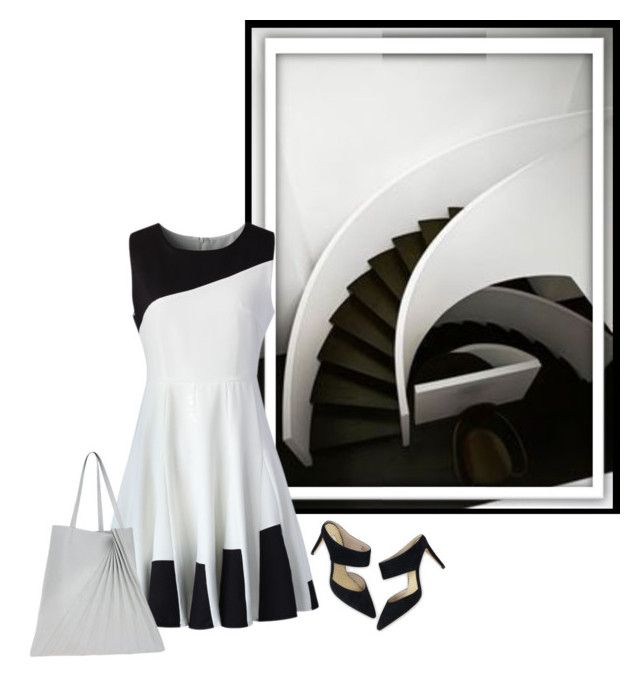 """Minimalist Stairway"" by dragunceol ❤ liked on Polyvore"