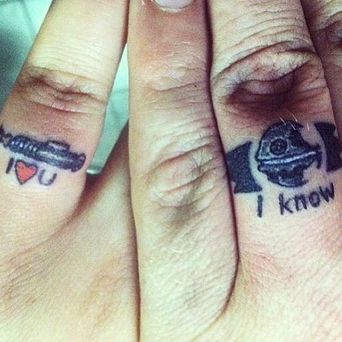 Infinity Wedding Band Tattoos Ring Tattoo 26