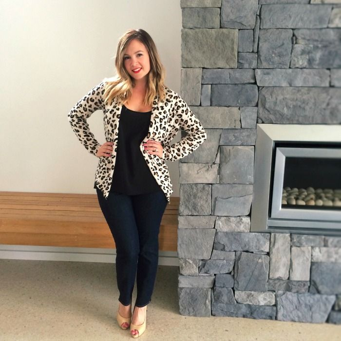 Autumn/Fall and Winter Look: Leopard and Denim | Sussan leopard ...