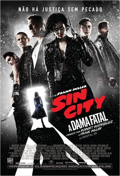 """""""Sin City 2: A Dama Fatal"""" estreia em 25 de setembro. Trailer: http://youtu.be/I_Znohv1V30"""