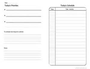 Daily Priority List - Bing Images | Checklist template ...