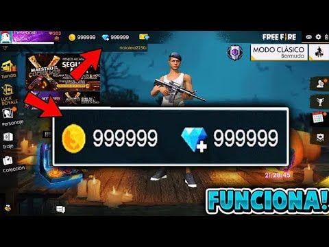 Nuevo Hack De Free Fire 124 Diamantes Infinitos Mega