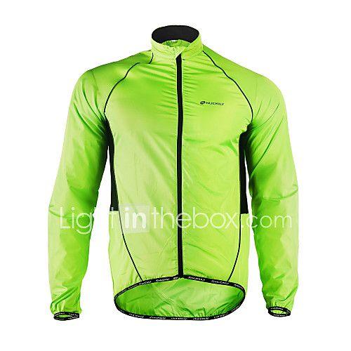 mirada detallada mayor selección volumen grande Nuckily Hombre Chaqueta de Ciclismo Bicicleta Chaqueta ...