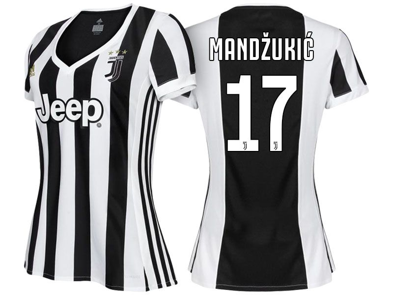 the latest d9e48 4c89d Women Juventus Home Kit 17-18 mario mandzukic | juventus ...