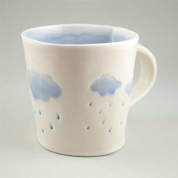 tea and rain clouds at the same time :)