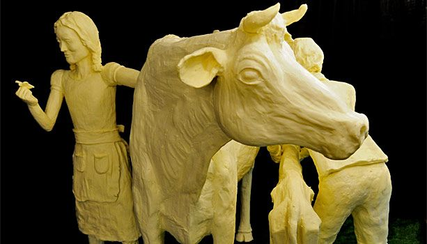 Iowa Butter Sculpture One Of The Highlights Of The Iowa State