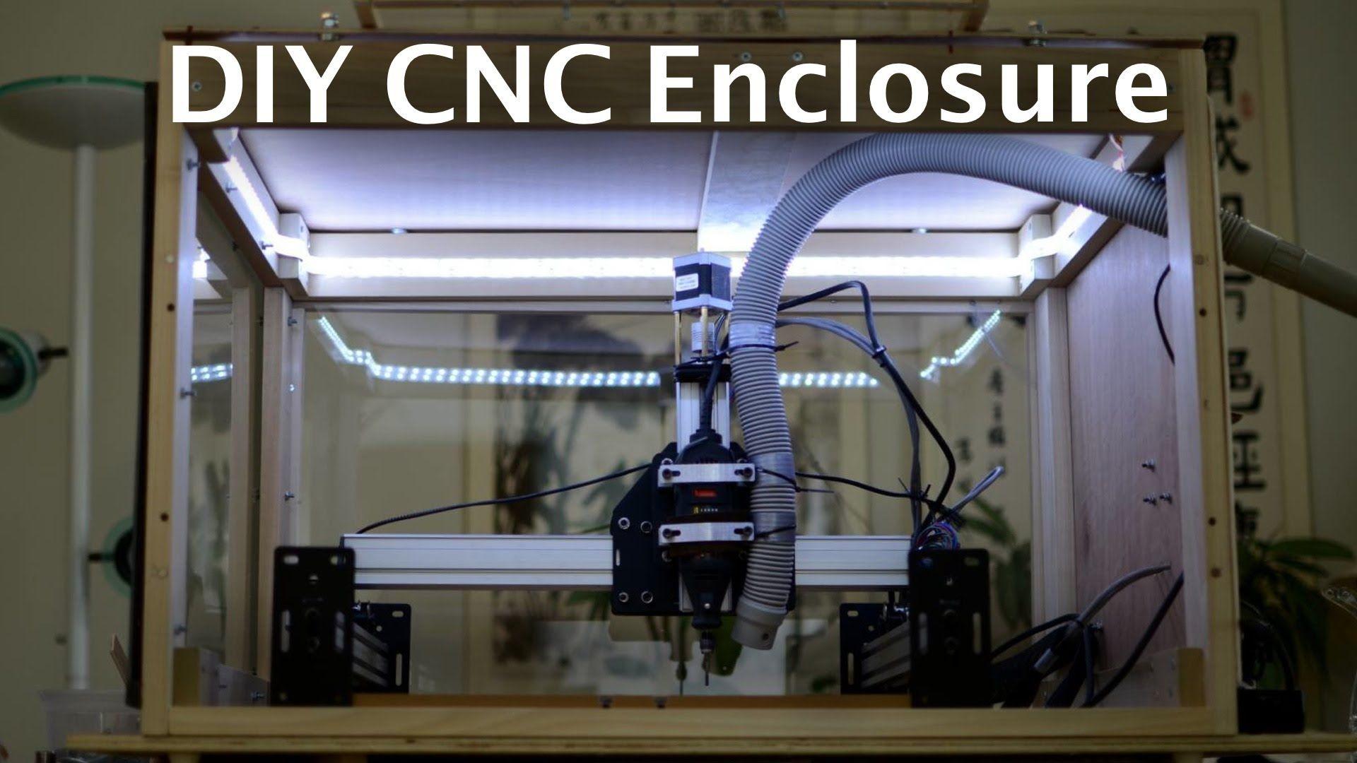 DIY CNC Dust Enclosure - Shapeoko Journey Ep  19 | Arts