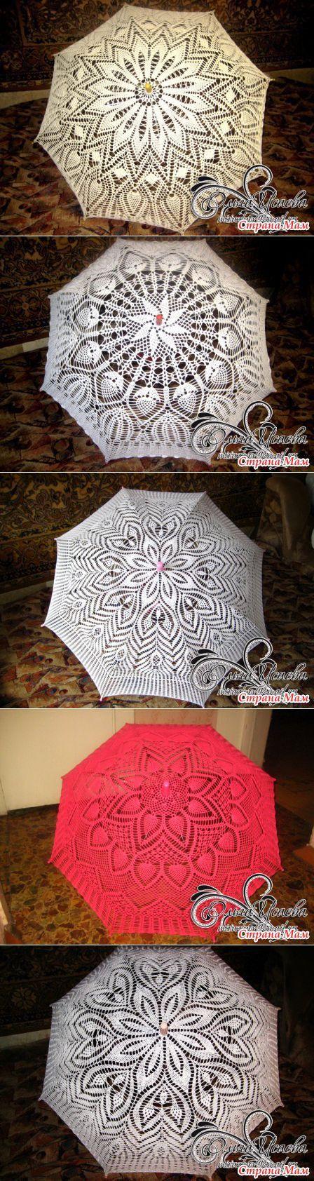 вязаный зонт Dáždniky A Slnečníky Pinterest Sonnenschirm