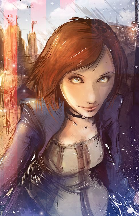 superpuppet:  Elizabeth - BioShock Infinite