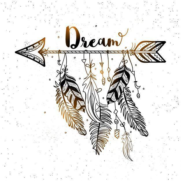 Dream Arrow Divider #Makeup Drawing Wallpaper #Dream Arrow Divider