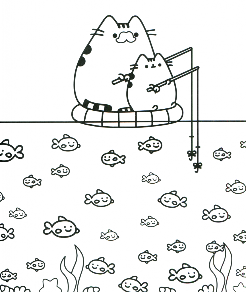 596c5898df5ffadf545194c06a921bb7 » Pusheen Coloring Pages