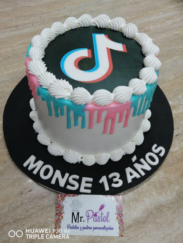 Tik Tok Cake Cool Birthday Cakes Birthday Cakes For Teens Unique Birthday Cakes