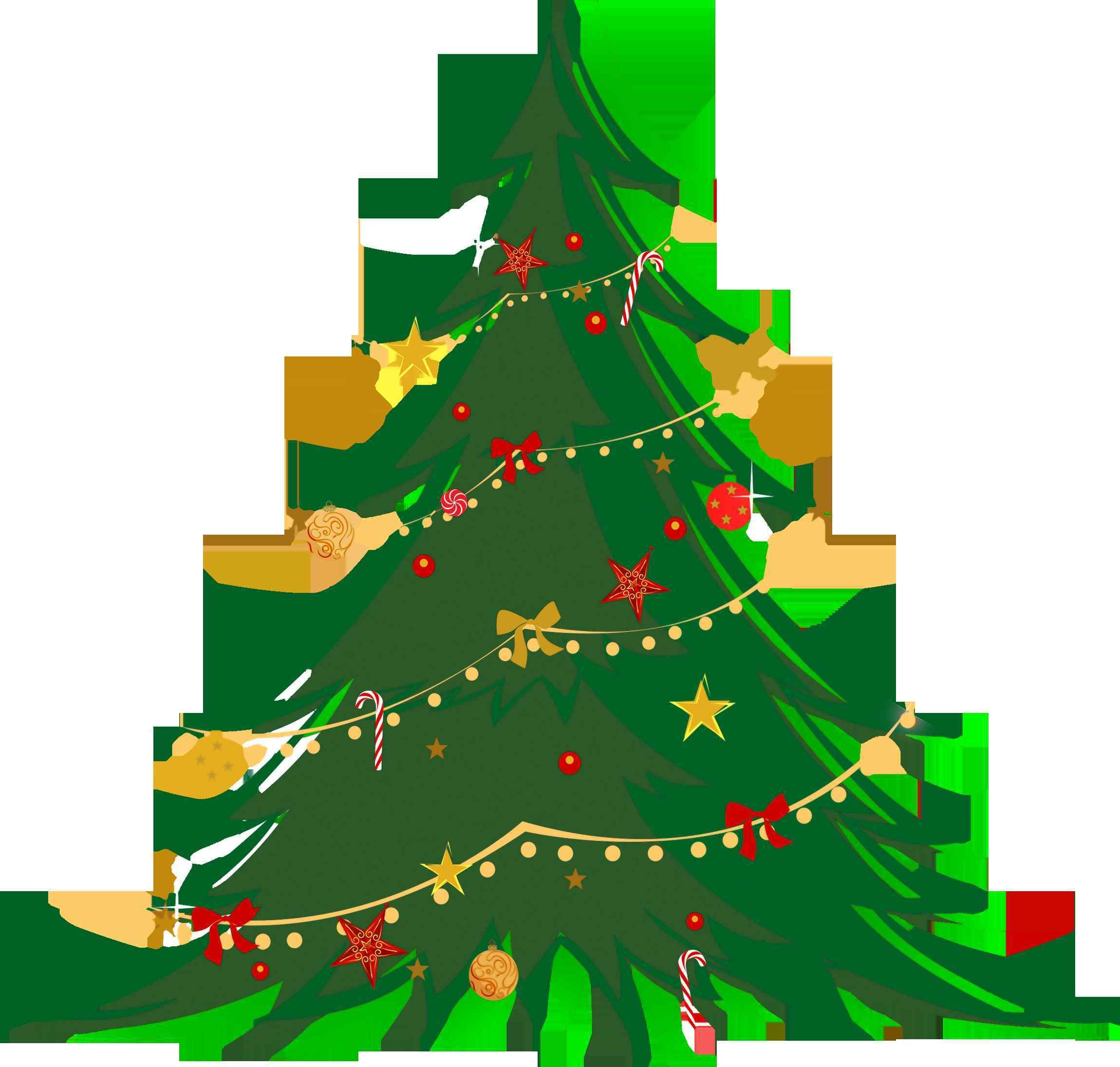 Christmas Tree Clipart Transparent Background.5 Lovely Christmas Tree Clipart Transparent Background