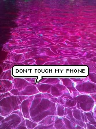 Don T Touch My Phone Tumblr Pesquisa Google Purple Aesthetic Aesthetic Colors Violet Aesthetic