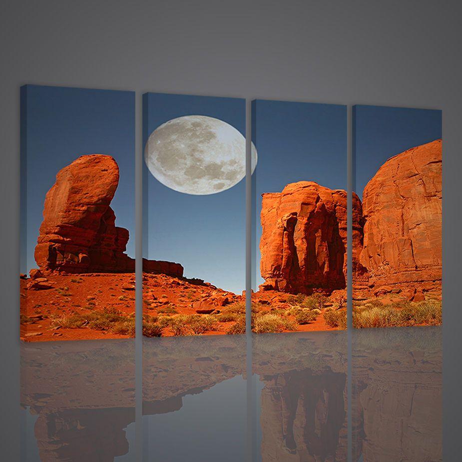 Quadri moderni canyon quadro moderno xxl stampa su tela arredamento ...