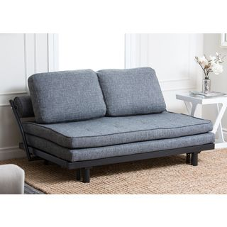 Astonishing Abbyson Living Florence Graphite Fabric Convertible Sofa Bed Caraccident5 Cool Chair Designs And Ideas Caraccident5Info