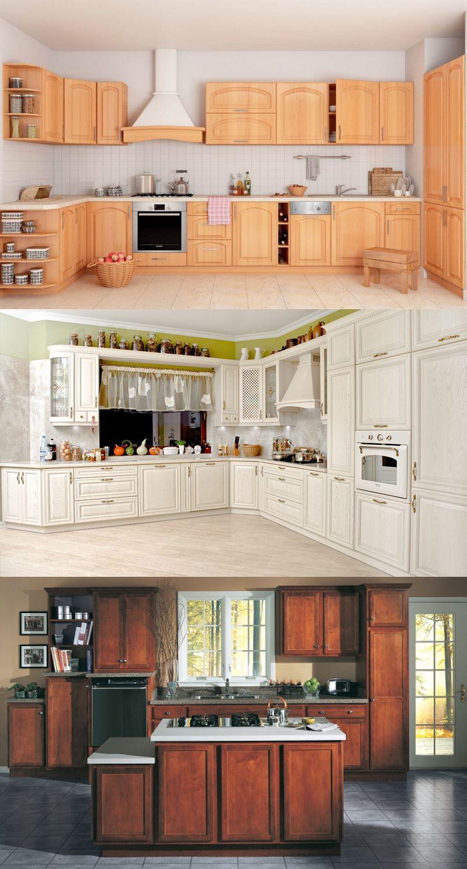 Küche aus Holz ist immer gute und zeitlose Idee. Aber welches Holz ...