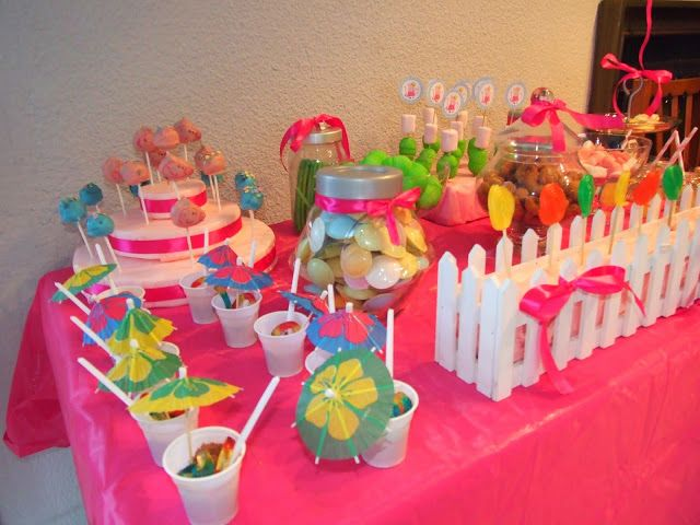 Ideas y cosas para tus fiestas infantiles decoracion de - Decoracion de cumpleanos infantiles ...