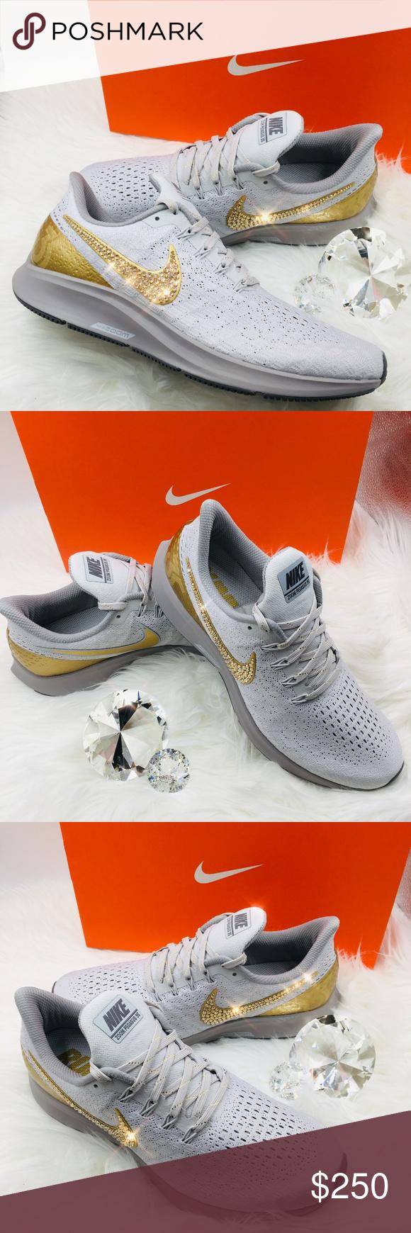 6bbfffb100f1 Bling Nike Air Zoom Pegasus 35 Premium Metallic STUNNING!! Brand New Nike  Air Zoom