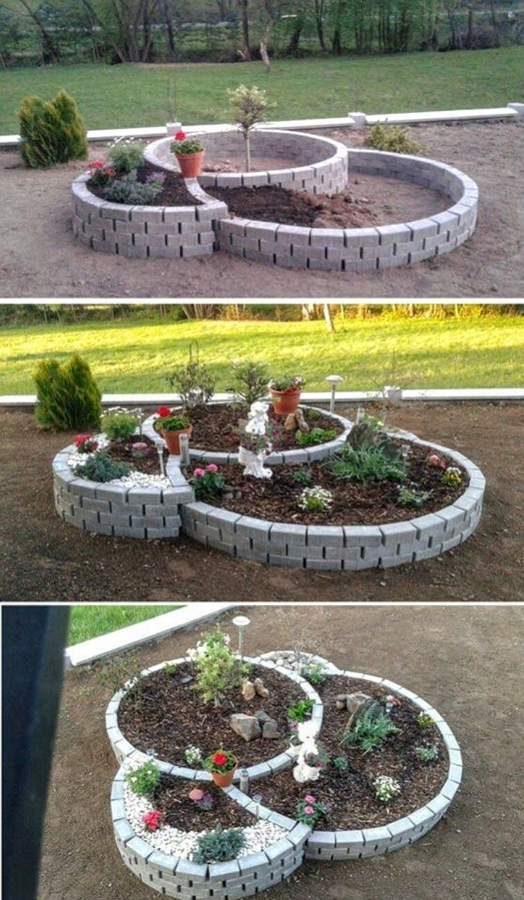 Photo of Nice idea for a pet memorial garden in the back yard. Smaller, but would look re…