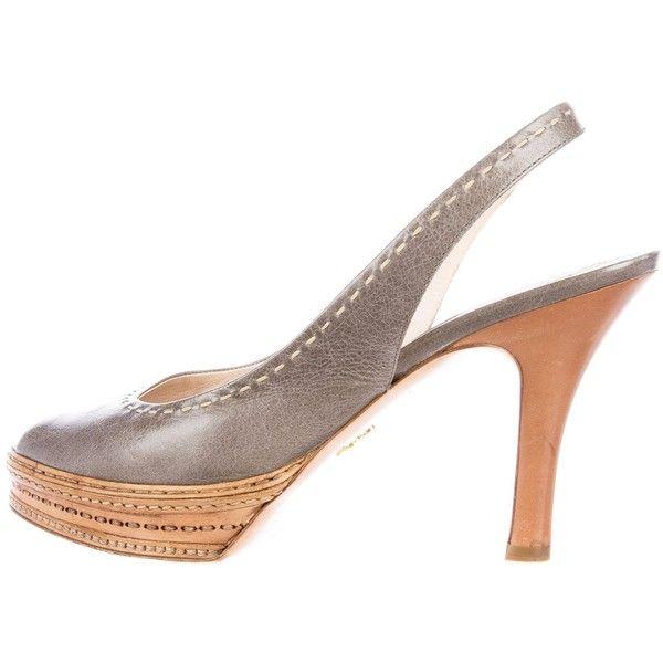 Pre-owned - Lizard heels Prada vupxDWV