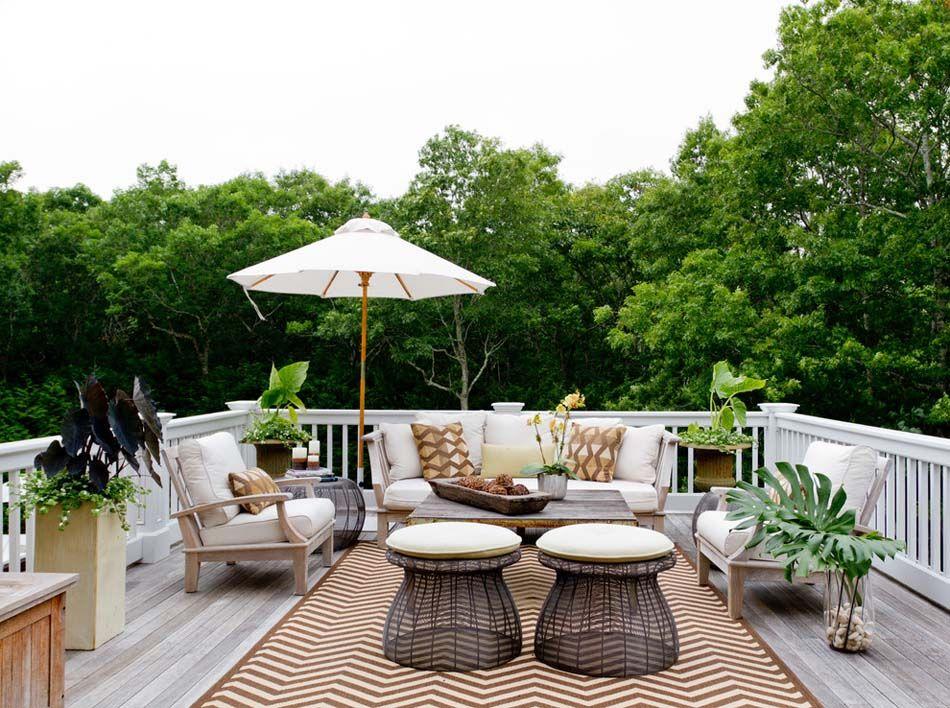 Le tapis extérieur – la touche déco pour des espaces outdoor ...