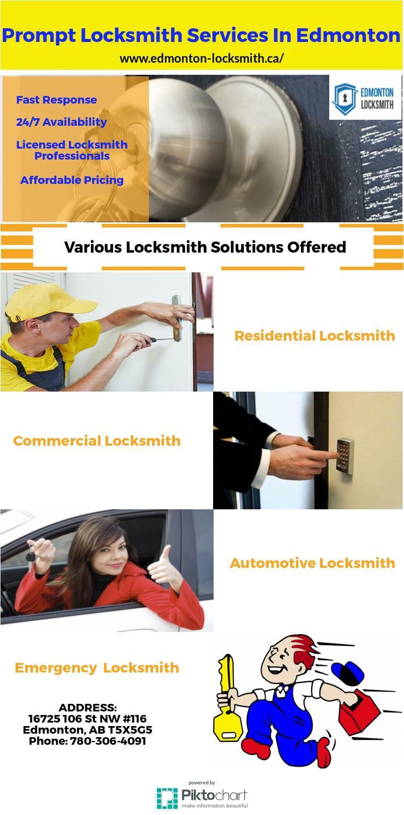 Seeking best locksmith services provider in Edmonton? Which can ...