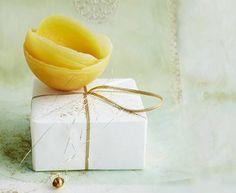 Filigrane Schalen aus Wachs können Sie in wenigen Minuten selber machen. Orange, Zitrone oder Grapefruit dienen dazu als Form. Zur Anleitung: Schalen aus Wachs selber machen