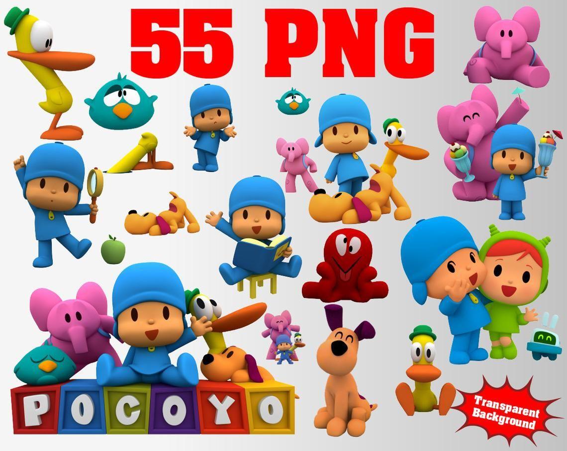 Pocoyo Clipart 80 Png 300 Dpi Transparent Background Pocoyo