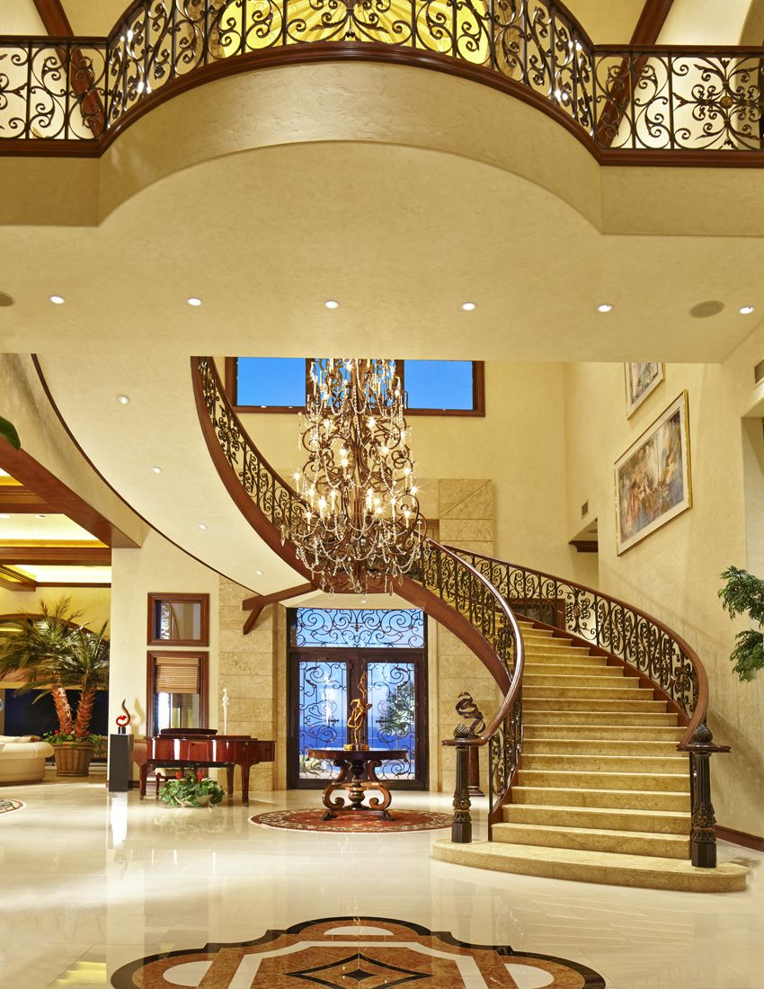 Best Amazing Entry Huge Houses Foyer Design House 400 x 300