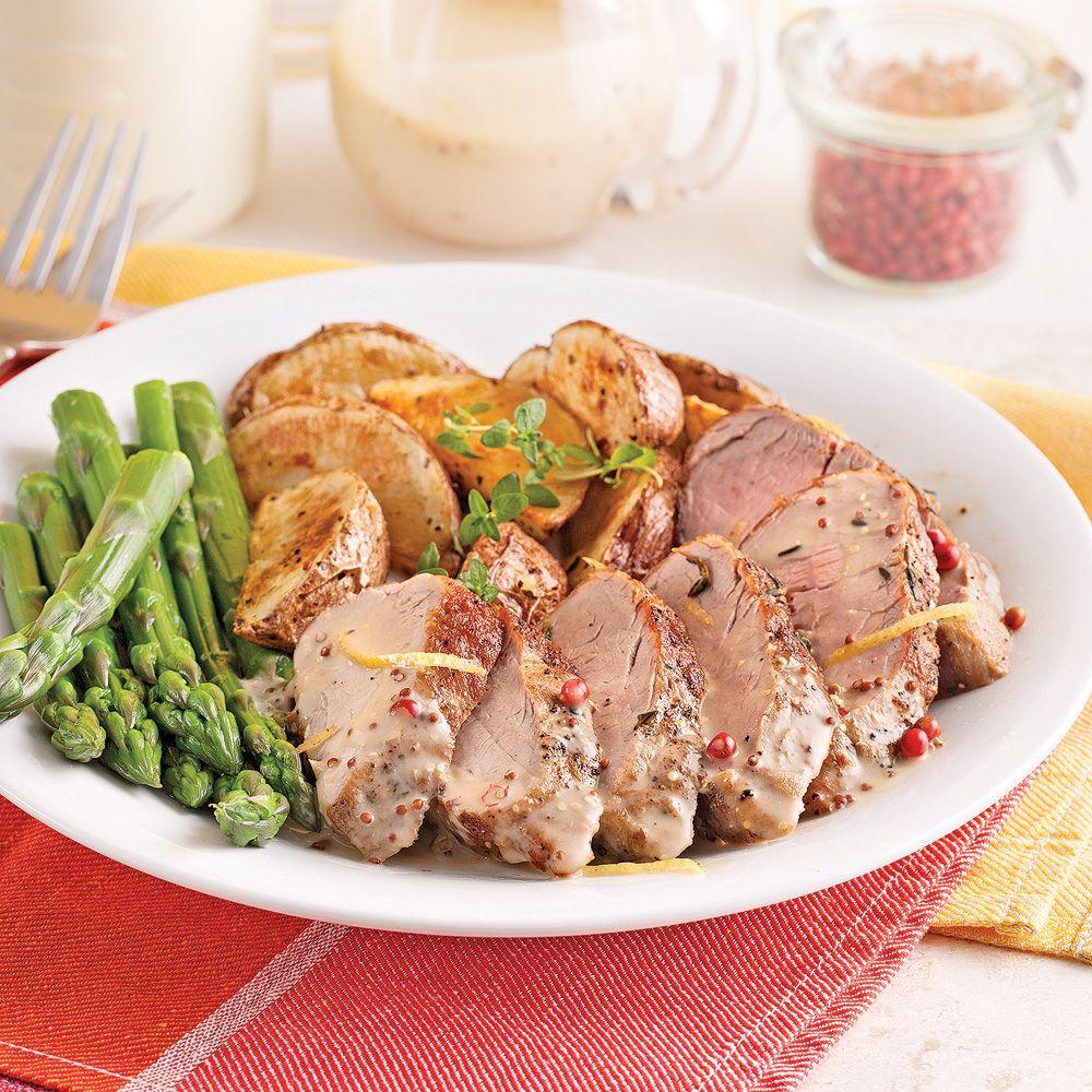 Si vous tombez sur des filets de porc bon marché, faites la recette en double!Elle se congèle facilement (sauce et filets séparés) et vous aurez un repas tout prêt pour les soirs pressés.