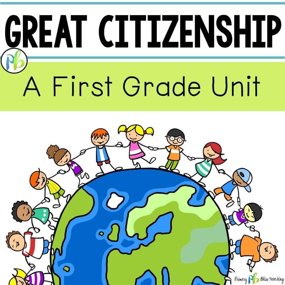 Citizenship Social Studies Unit - First Grade